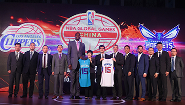 Hornets NBA Global Games China 2015 Fact Sheet