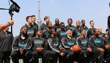Hornets Team Picture | 2015 NBA Global Games
