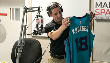 Kroeger Bringing Passion, Familiarity to Hornets Radio Broadcast
