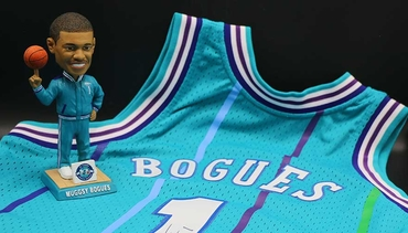 Muggsy Bogues Jersey Giveaway