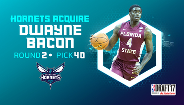 Hornets Acquire Bacon's Draft Rights