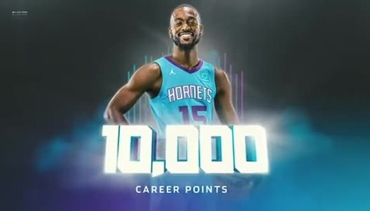 Kemba Walker Passes 10,000 Points
