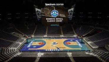 Video | Hornets Unveil Classic Court