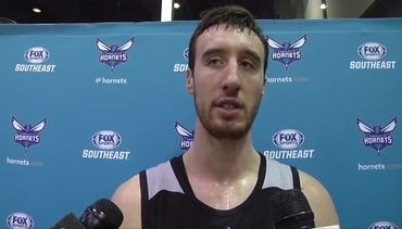 Hornets Training Camp | Frank Kaminsky