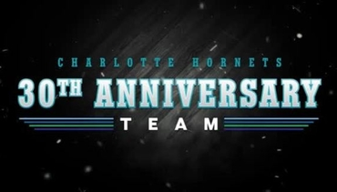 Hornets Honor 30th Anniversary Team at Halftime - 11/17/18