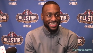 2017 All-Star Weekend | Kemba Walker Media Availability - 2/17/17 - Part 1 of 2