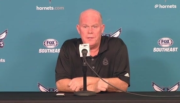 2016 Hornets Media Day Interview - Steve Clifford