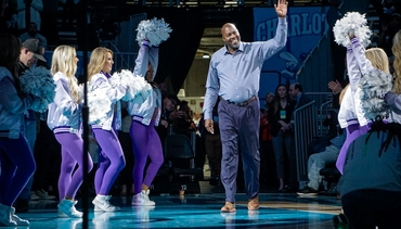 Hornets 30th Anniversary | Glen Rice Halftime Recognition