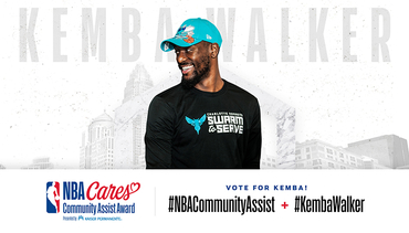Kemba Walker Among 10 Finalists For NBA Cares Community Assist Award