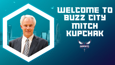 Hornets Name Mitch Kupchak President of Basketball Operations & General Manager