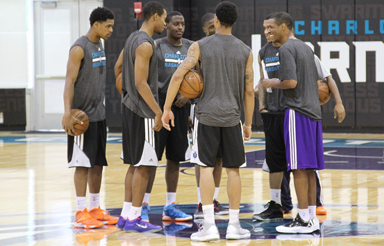 Hornets Draft Workout - 6/24/14