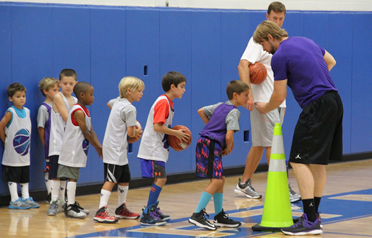 Charlotte Hornets Bee-Ball Dribblers Mini-Camp 2014