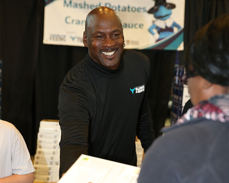 The Hornets hosted their 4th annual Cornucopia, presented by Food Lion and Sponsored by Coke on November 25, 2014