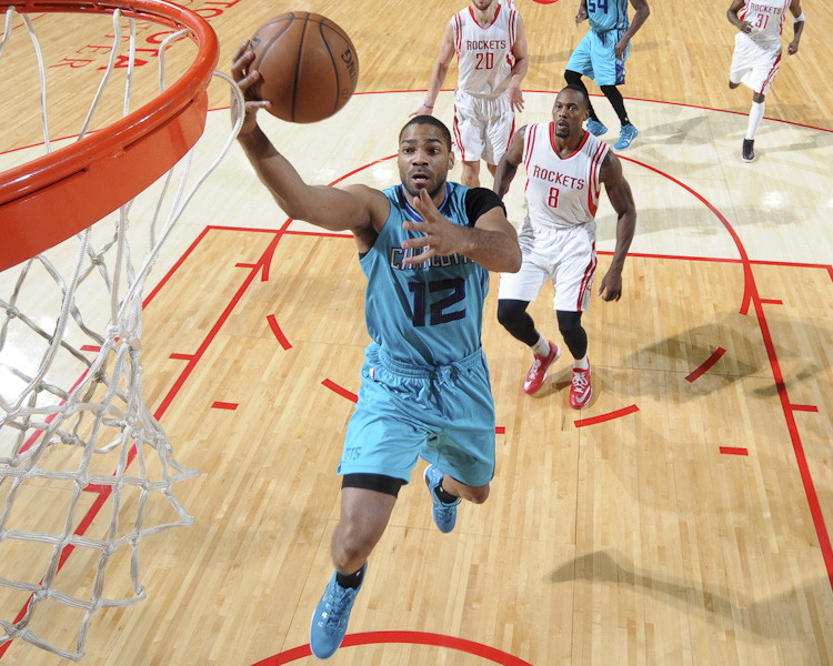 The Hornets fall to the Houston Rockets, 102 - 83