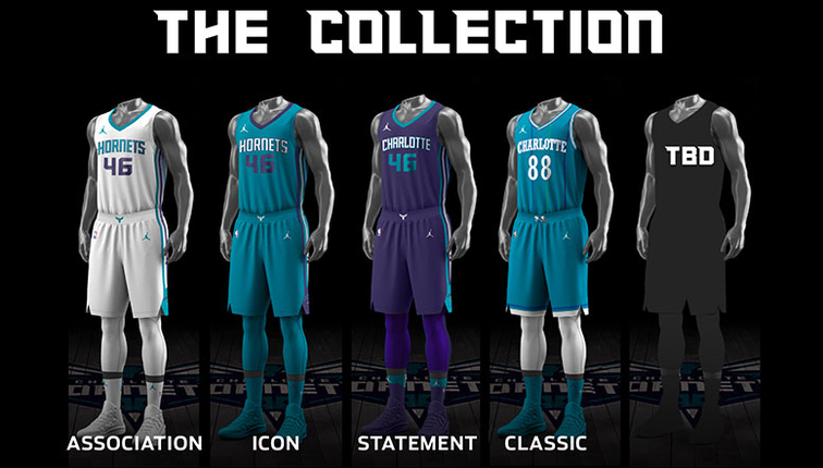 Hornets Unveil Uniform Schedule For 2017-18 Season  1c568f8ec