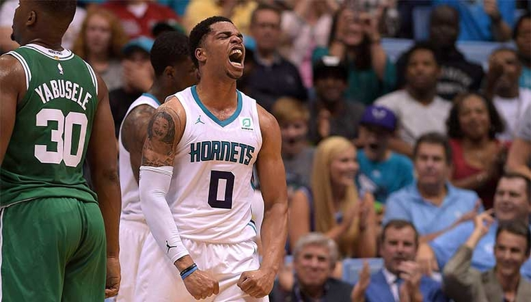 109fb49d9 Charlotte Hornets Announce 2018-19 Opening Night Roster