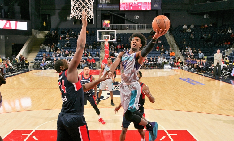 4621769b7 Hornets Recall DeVonte  Graham From Greensboro Swarm