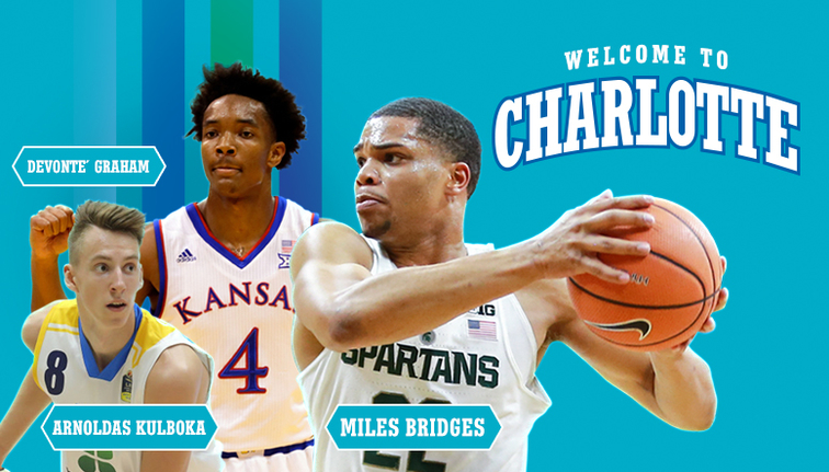 Hornets Acquire Draft Rights to Miles Bridges and Devonte  Graham ... bc744c6d8