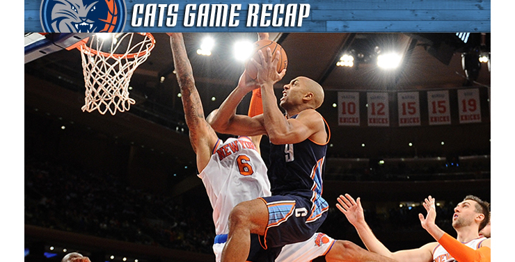 Cats vs Knicks