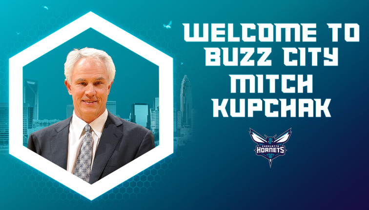 Hornets hire Mitch Kupchak as general manager