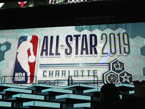 Gallery | NBA All-Star Weekend Spectrum Center Walkthrough - 2/14/19