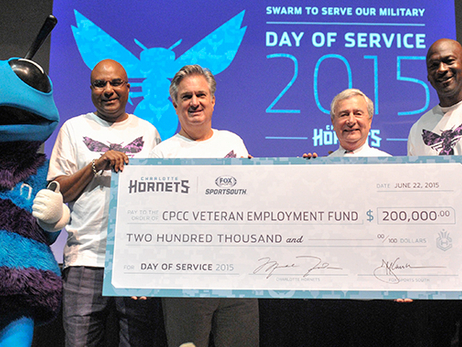 Hornets Annual Day of Service to Focus on Volunteer Projects Benefitting Military Personnel