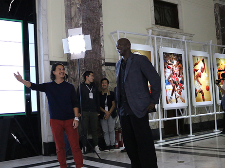 MJ, Kemba, Cody and PJ at Jordan Brand Events - 10/12/15
