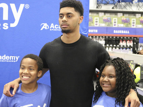 Gallery | Jeremy Lamb at Academy Sports + Outdoors - 5/25/17