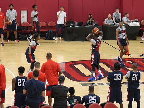 Kemba Walker at Team  USA Basketball Mini-Camp