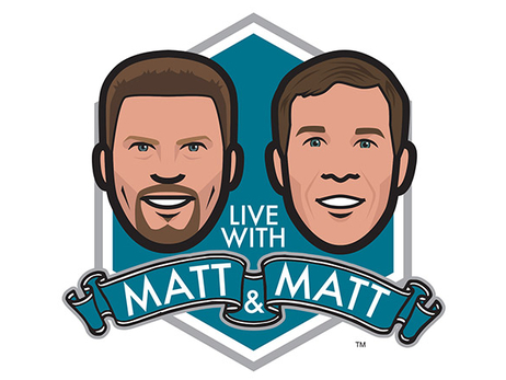 Live with Matt and Matt at 2018 Media Day