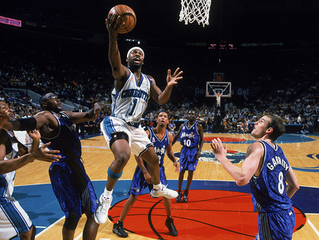 No. 7 Baron Davis - Hornets 30th Anniversary Team Gallery