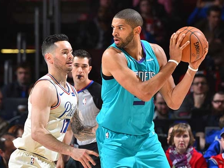 Hornets Battle 76ers Again to Open Homestand