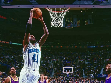 Glen Rice and the Charlotte Hornets Crossed Paths at the Perfect Time