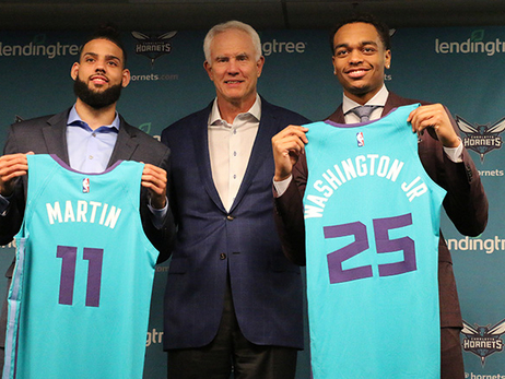 Hornets Add Washington, Martin, McDaniels in Draft Day Haul