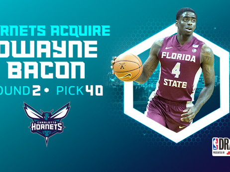 Hornets Acquire Draft Rights To Dwayne Bacon From Pelicans