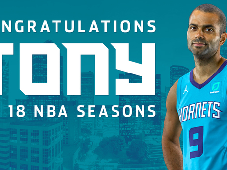 Hornets Statements On Tony Parker Retirement