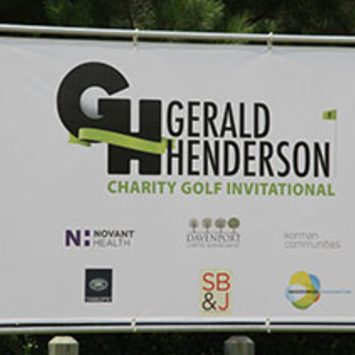 Gerald Henderson hosted his inaugural celebrity golf tournament to benefit A Child's Place.