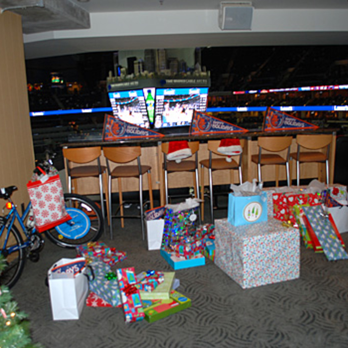 Gallery - 2008 Bobcats Season of Giving Events