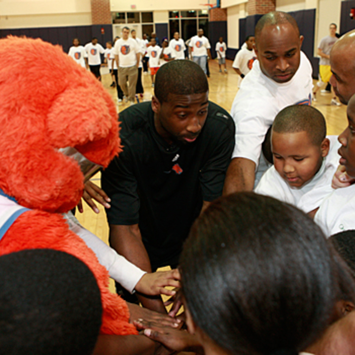 Gallery - Raymond Felton Big Brothers and Big Sisters 2009 Camp