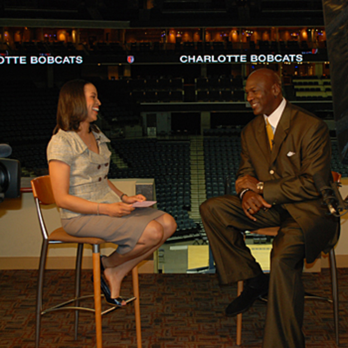 Gallery - Behind the scenes with Bobcats Majority Owner Michael Jordan - 3/18/10