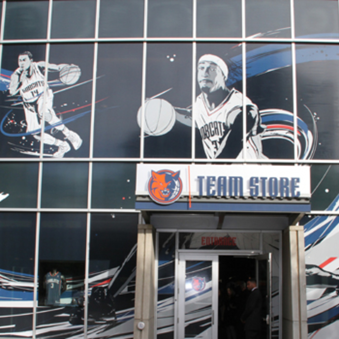 Gallery - First Look at Bobcats New Team Store