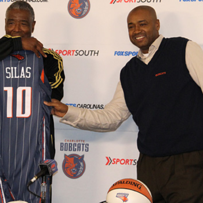 Paul Silas Press Conference Gallery