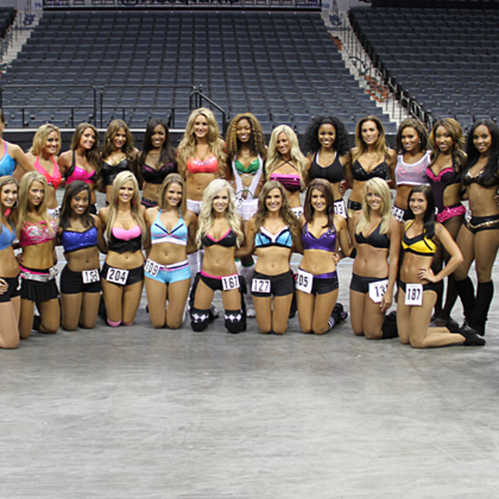 2011 Lady Cats Auditions