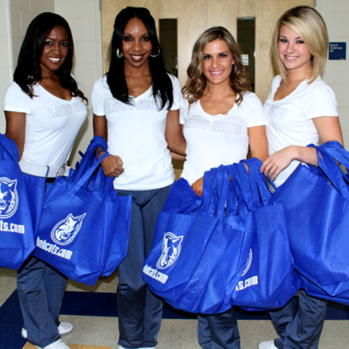 Lady Cats Dance Class Delivery - 8/8/11