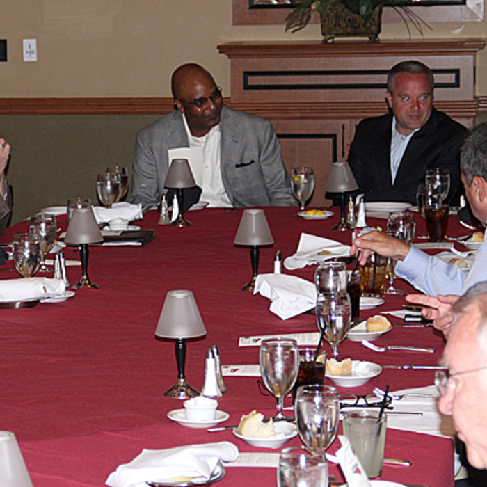 STH Lunch with Fred Whitfield - 8/30/11