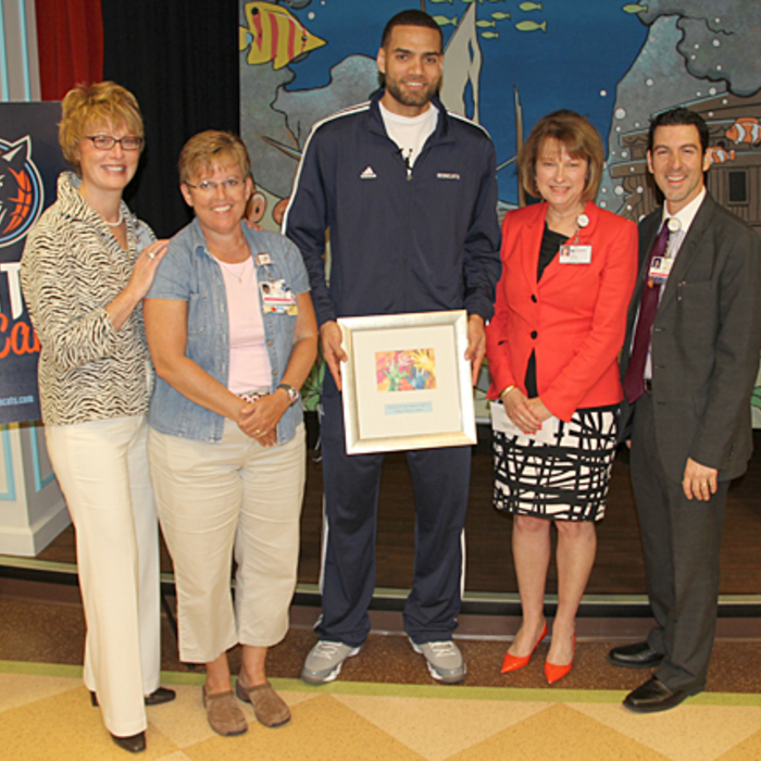 Jeffery Taylor Gives Back - 4/10/13