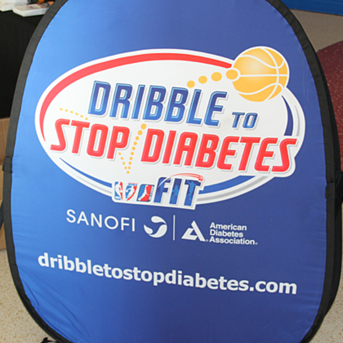 Dribble to Stop Diabetes - 4/13/13