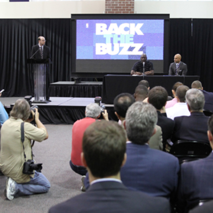 Back the Buzz Press Conference