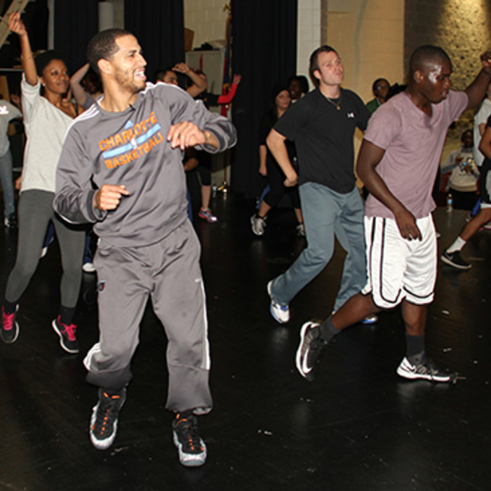 Hip Hop Dance Class at Vance High School