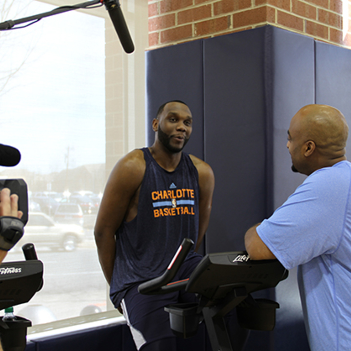 NBA TV in Town with Al Jefferson